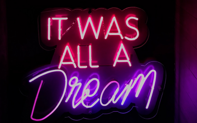 It was only a dream…